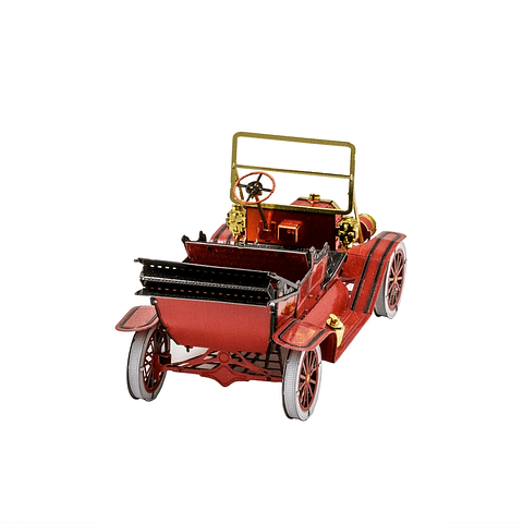 Ford T 1908 Rojo