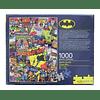 Rompecabezas de 1000 piezas Collage de Batman