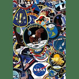 Rompecabezas de 150 piezas de la NASA en tubo