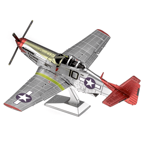 Avión P-51D Mustang - Escuadrón 332- The Tuskegee Airmen