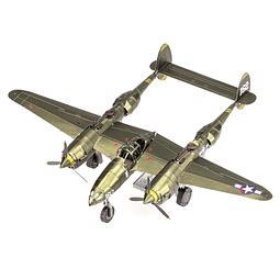 Avión Caza P-38 Lightning