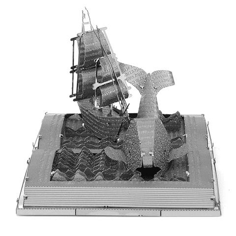 Escultura de Moby Dick