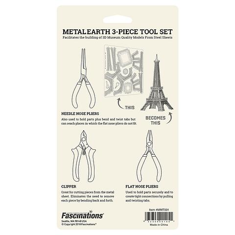 Set de Herramientas para armar modelos Metal Earth - Iconx PROMO