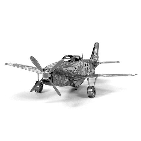 Avión Mustang P51