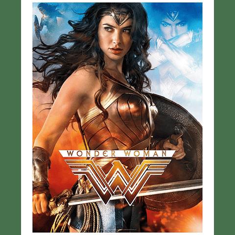 Rompecabezas de la Mujer Maravilla 1000 Piezas