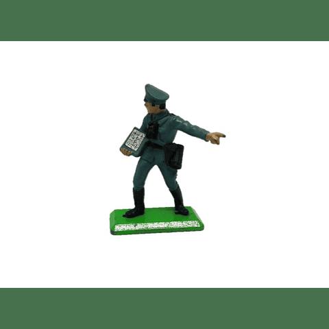 Oficial de infantería alemán. WWII