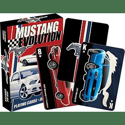 Juego de Cartas Ford Mustang Evolution