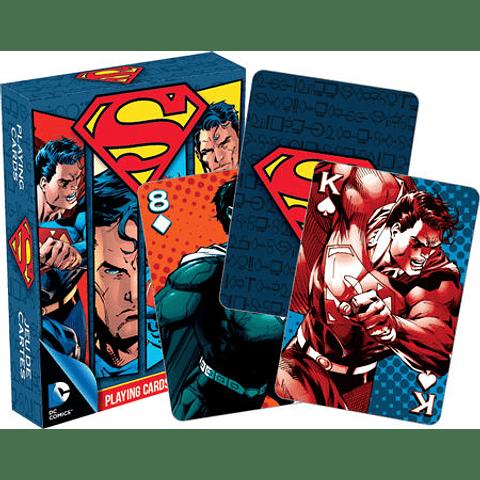 Juego de Cartas de Superman