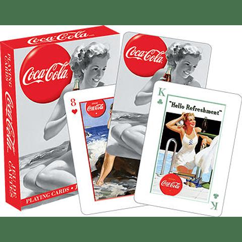 Juego de Cartas Coca Cola