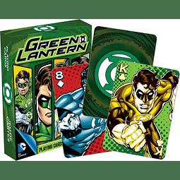 Juego de Cartas de Linterna Verde