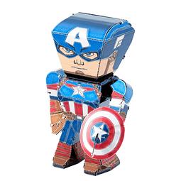 Modelo Caricatura de Capitán América