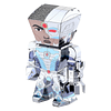 Modelo Caricatura de Cyborg