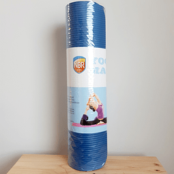 Mat de Yoga 10 mm de espesor color azul