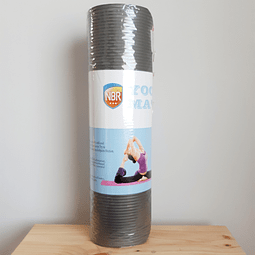 Mat de Yoga 10 mm de espesor color gris