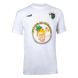 Camel T-Shirt - White