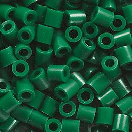 250 Perler verde oscuro