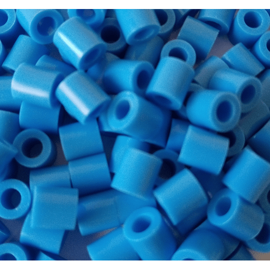 250 Perler azul claro