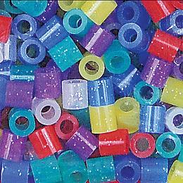 500 Perler mix glitter