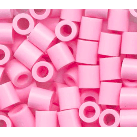 1000 Perler Mini Rosado Claro