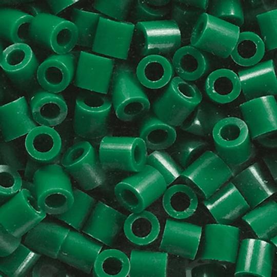 1000 Perler Mini Verde Oscuro