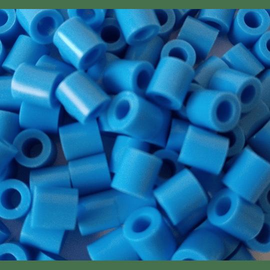 1000 Perler Mini Azul Claro