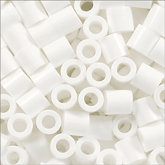 2000 Perler Mini Blanco