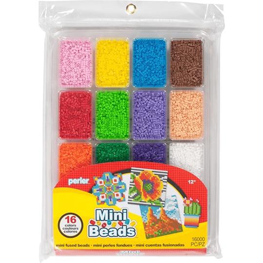 Bandeja Perler Mini Colores Veraniegos