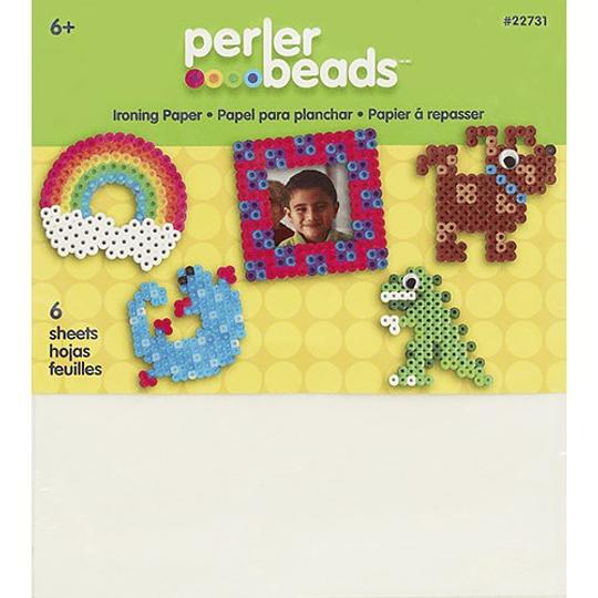 Papel para planchado Perler (6 unidades)