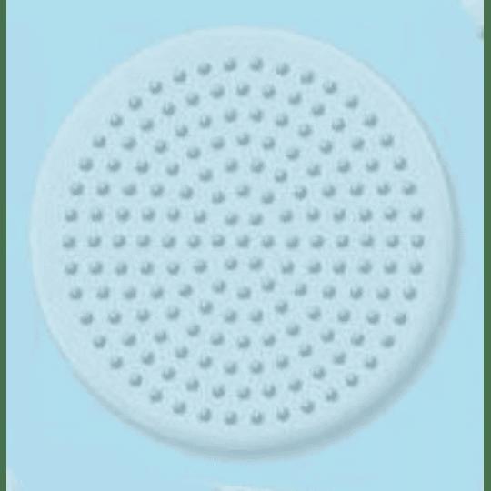 Base redonda pequeña transparente
