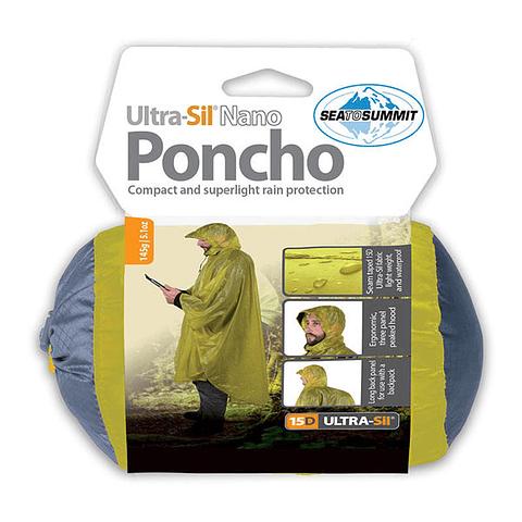Poncho 15D Lime