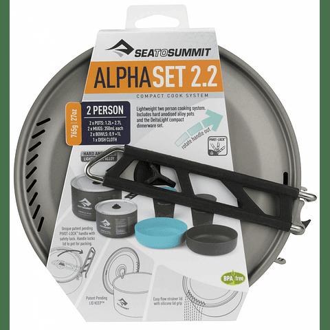 Set de Cocina Alpha Cookset 2.2
