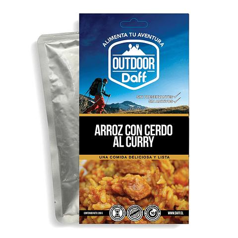 ARROZ CON CERDO AL CURRY OUTDOOR DAFF