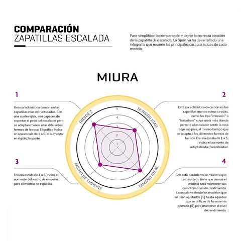 ZAPATILLA ESCALADA MIURA
