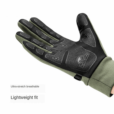GUANTE TOUCH NO SLIP GL 10 GREY