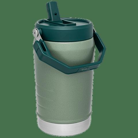 BOTELLA HIDRATACION CON BOMBILLA 1.18 LT GREEN STANLEY