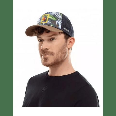 Trucker Cap Scarlett Macaw Multi Buff