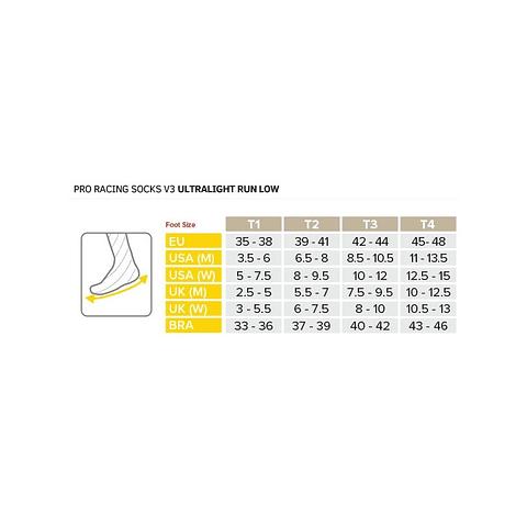 Calcetines Cortos de Running v3.0 Silver Pine/White - Compressport