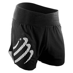 OVER SHORT BLACK COMPRESSPORT