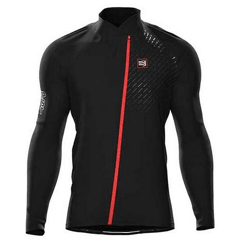 HURRICANE JACKET V2 BLACK COMPRESSPORT