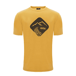 POLERA KANSAS GOLD/HONEY IZAS OUTDOOR