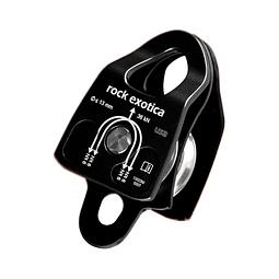 POLEA DOBLE MACHINED RESCUE (P22D B) ROCK EXOTICA