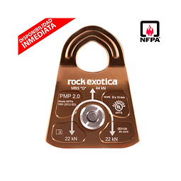 POLEA SIMPLE PMP 2.0 (NFPA) ROCK EXOTICA