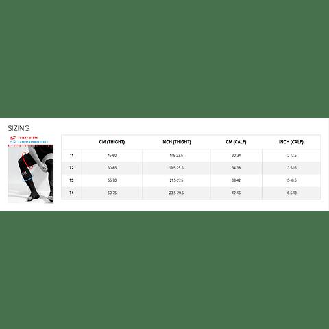 TOTAL FULL LEG BLACK COMPRESSPORT