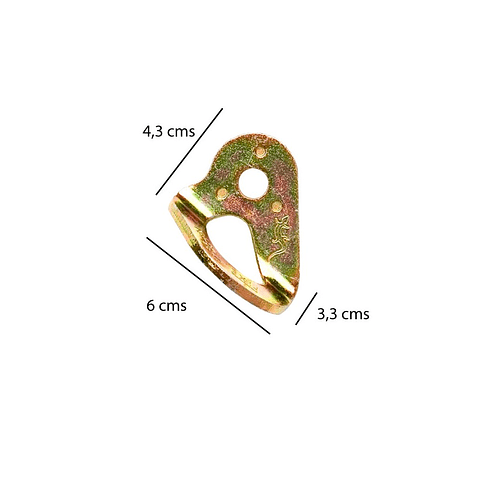 CHAPA DE ANCLAJE (D12)