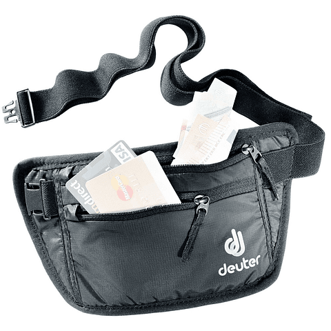 PORTA DOCUMENTOS SECURITY MONEY BELT 1  BLACK DEUTER