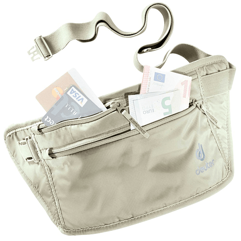 PORTA DOCUMENTOS SECURITY MONEY BELT 2 SAND DEUTER