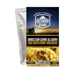ARROZ CON CARNE AL CURRY OUTDOOR DAFF