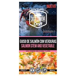 GUISO DE SALMÓN CON VERDURAS OUTDOOR DAFF