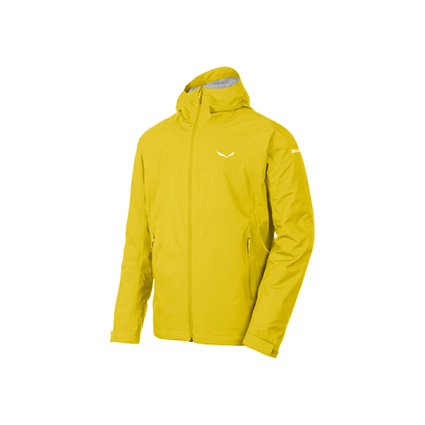 CHAQUETA PUEZ AQUA 3 PTX SALEWA YELLOW