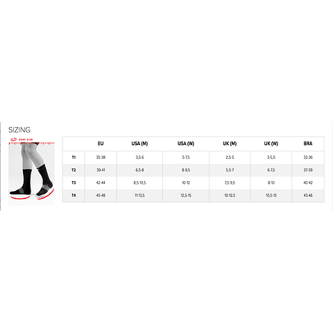 CALCETA BIKE V3 BLACK/YELLOW COMPRESSPORT